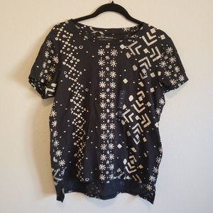 4/$25 Lucky Brand Patterned T Shirt